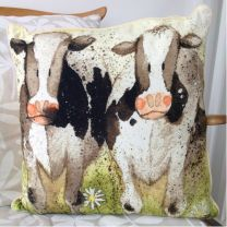 Alex Clark Curious Cows Cushion - 45cm x 45cm