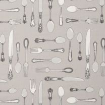 Cutlery Taupe PVC Cloth