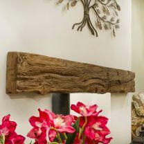 Newman Fireplace Dartmoor Oak Effect Stone Beam