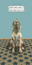 The Little Dog - Dog Hug Greeting Card