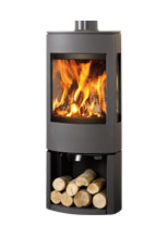 Dovre Astroline 3 Wood burning with wood store