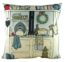 Sally Swanell North face of the AGA cushion - 43cm x 43cm