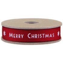 Merry Christmas fabric Ribbon
