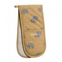 sophie allport elephants double oven glove