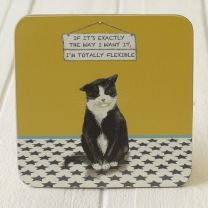The Little Dog laughed - Flexible Coaster