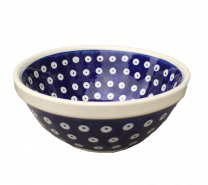 Polish Pottery Frogeye Cereal bowl