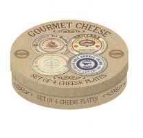 Set of Four Cheese Plates