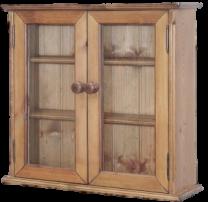 Penny Pine Glazed Medicine Cabinet