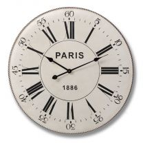 Metal Paris Clock