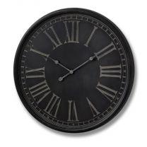 Charcoal Grey Clock