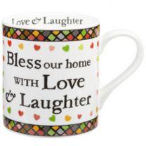 Julie Dodsworth Bless our home Mug