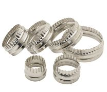 Set of 6 Stainless Steel Pastry Cutters