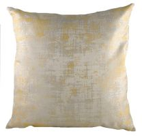 Gold Holywood Cushion - 43cm square cushion