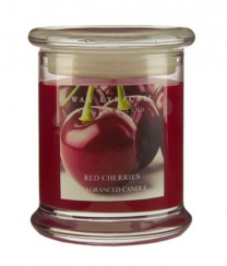 Wax Lyrical Red Cherries Candle Jar - Made in England Candles