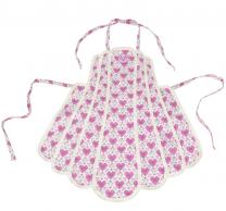 Love AGA child's apron, 100% cotton