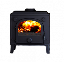 Morso 1630 Dove Stove - drilled for boiler