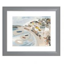 Artko Mousehole Framed Print by Artist Janine Burrows