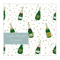 Sophie Allport Bubbles and Fizz Paper Napkins