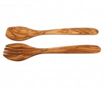 Eddingtons Olive Wood Salad Set