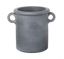 Parlane Barrow Dark Gray Ceramic Pot
