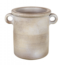 Parlane Barrow Ceramic Planter in Taupe