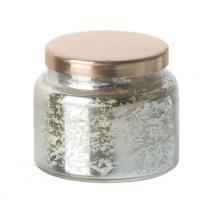 Vanilla Votive with Copper Lid - Silver 750722