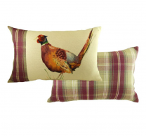 Pheasant Cushion (Rectangular)