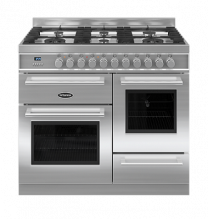 Britannia Q Line XG 100cm Dual Fuel in Stainless Steel