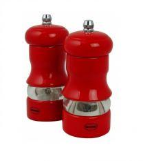 Red Salt & Pepper Mill Set