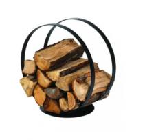 Black Steel Dixneuf Ring Log Holder