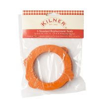 Kilner pack of 6 replacement rubber seals for clip top jars