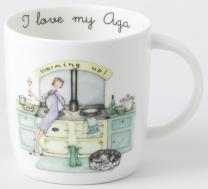aga warming up mug