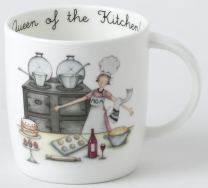 aaga queen of the kitchen mug