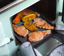 rectangular aga griddle