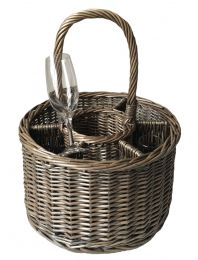 Antique wash willow special event basket