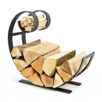 Blacksmith Swirl Log & Kindling Holder