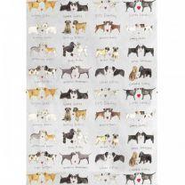 Alex Clark Delightful Dogs 100% Cotton Tea Towels