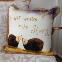 Alex Clark Written in the Stars Cushion - 45cm x 45cm