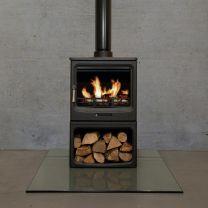 F2 Vue Landscape logstore stove