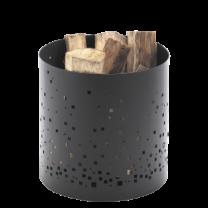 Dixneuf Ephemer Log Basket in black