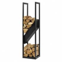 Dixneuf Diagonal Log Holder & Fire Tool Set