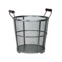 Calfire Modern Mesh Log Basket