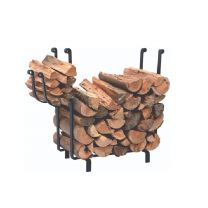 Calfire Harton Black Log Rack