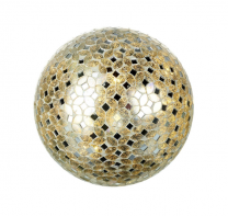 Parlane Mosaic Glass Light Globe - Large
