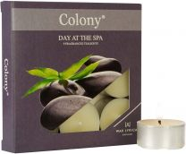 Day at the Spa Colony Tealights 9 pack