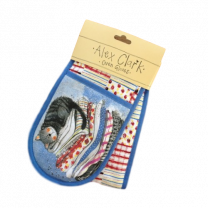 Alex Clark Laundry Basket Double Oven Gloves