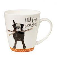 Alex Clark Old Dog New Sticks Mug