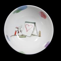 Anita Jeram 'Art of Love' china bowl