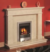 Balmoral Fireplace in Egyptian Creme Marble