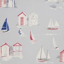 Beach Huts PVC Table Cloth